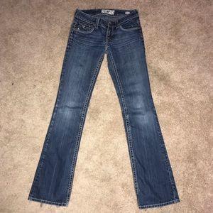 Mek jeans 26 x 36 Baltimore boot cut denim